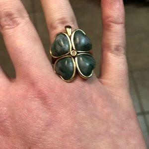 🍀 Lucky Brand four leaf clover ring 🍀